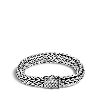 Classic Chain 10.5MM Bracelet in Silver