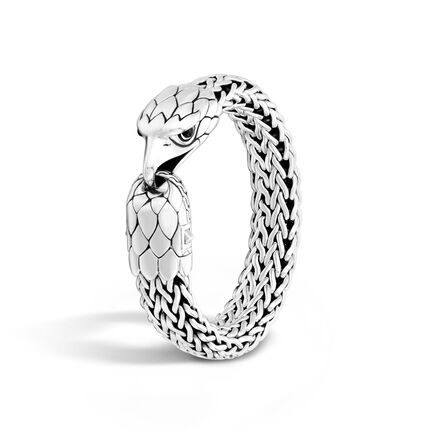 Legends Eagle 15MM Station Bracelet in Silver