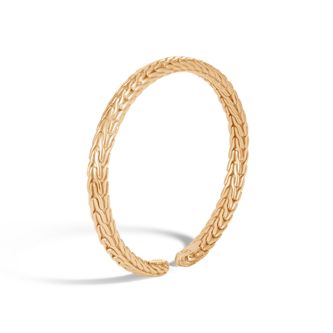 Classic Chain 6MM Cuff in 18K Gold