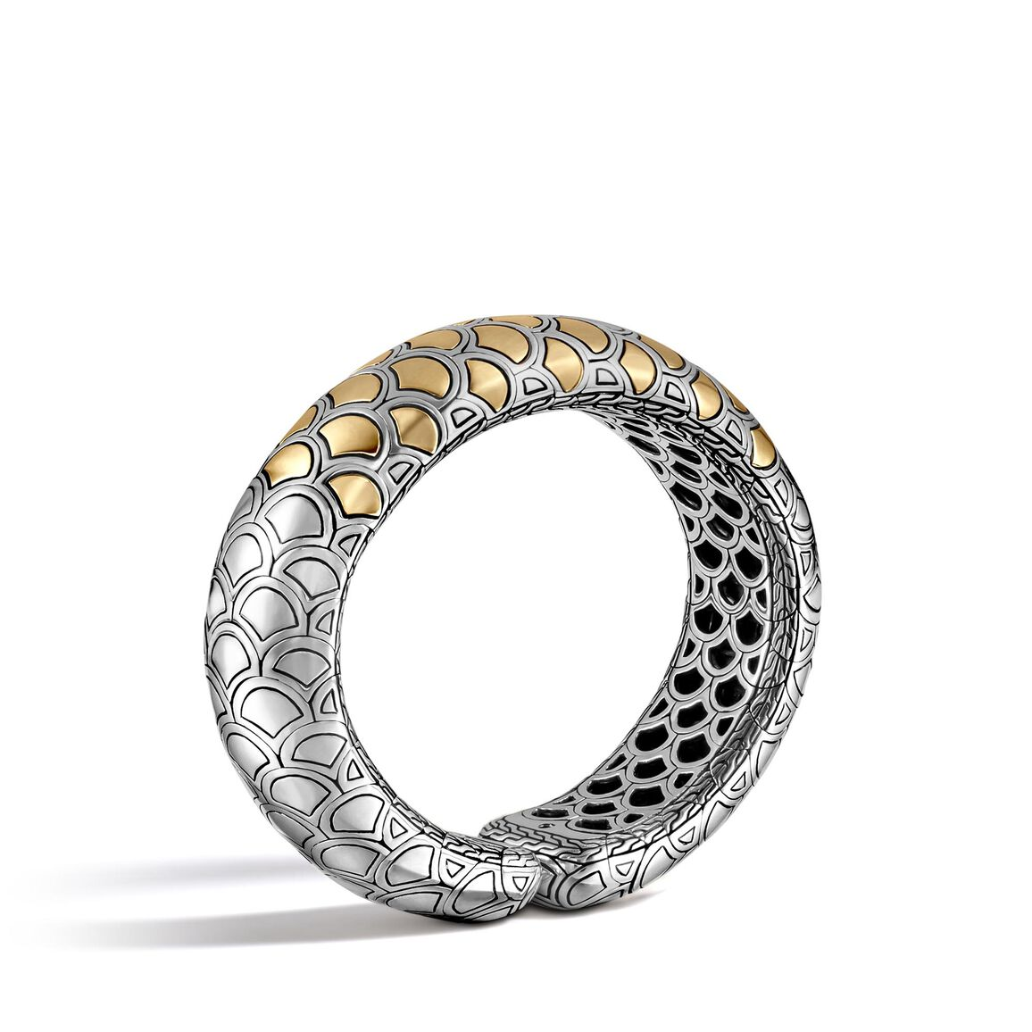 Legends Naga 21MM Cuff in Silver and 18K Gold