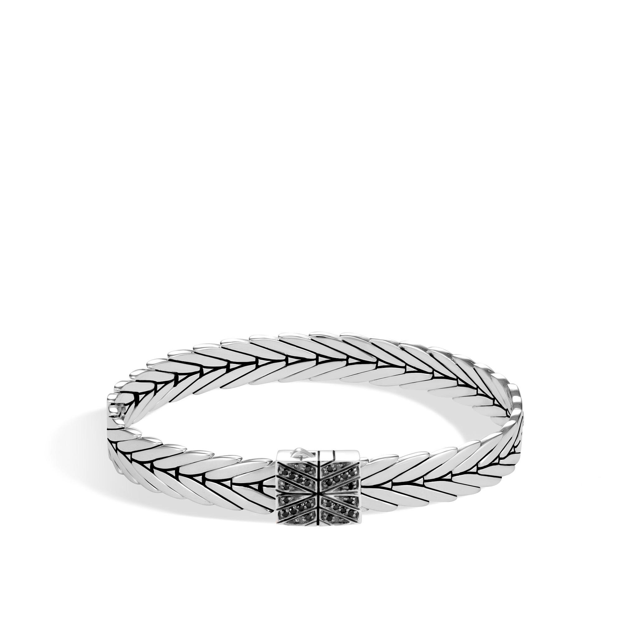 John Hardy Modern Chain Bracelet With Black Spinel Xs Black spinel zaZ0V1vPK