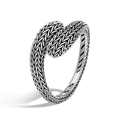 Classic Chain Kick Cuff in Silver