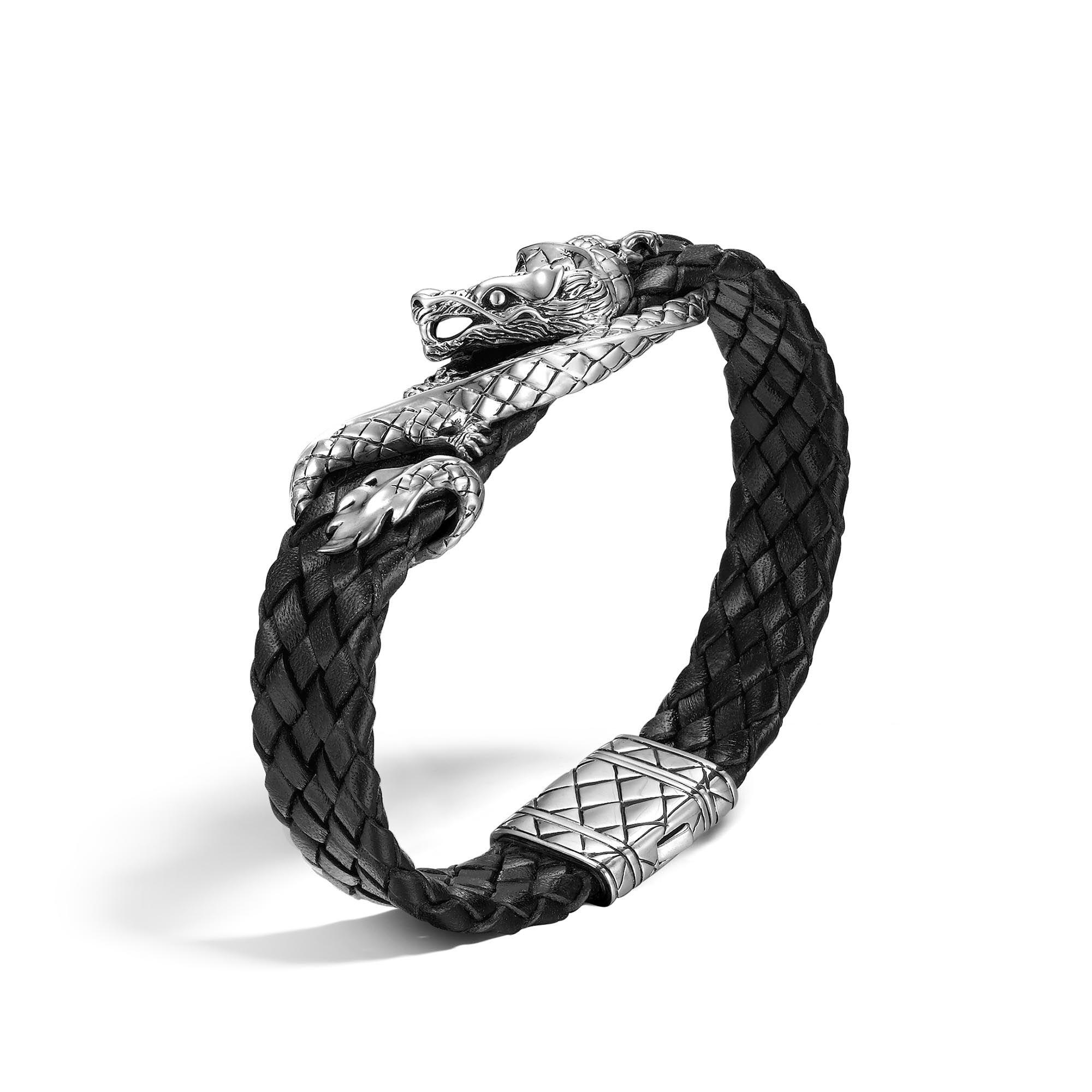 John Hardy Naga Bracelet Xs Black FgucCQ