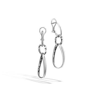 Kali Drop Earring in Silver