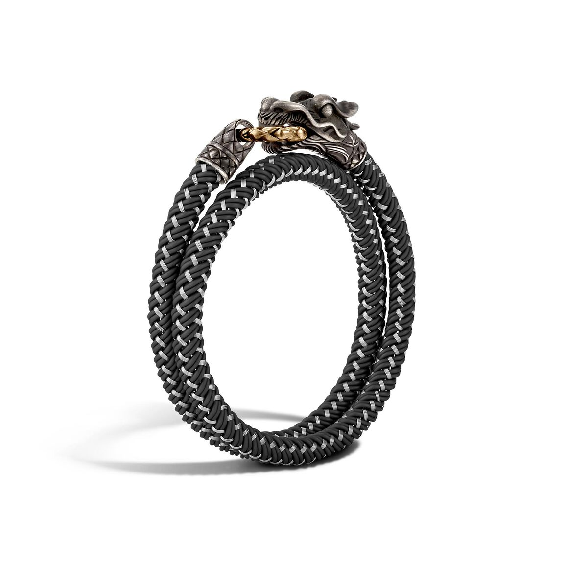 Legends Naga Wrap Bracelet In Silver and Bronze