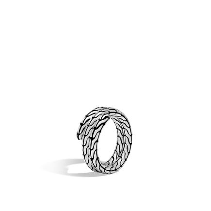 Classic Chain Double Coil Ring