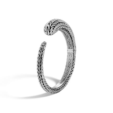 Classic Chain 10MM Kick Cuff in Silver