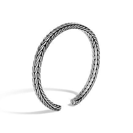 Classic Chain 6MM Cuff in Silver