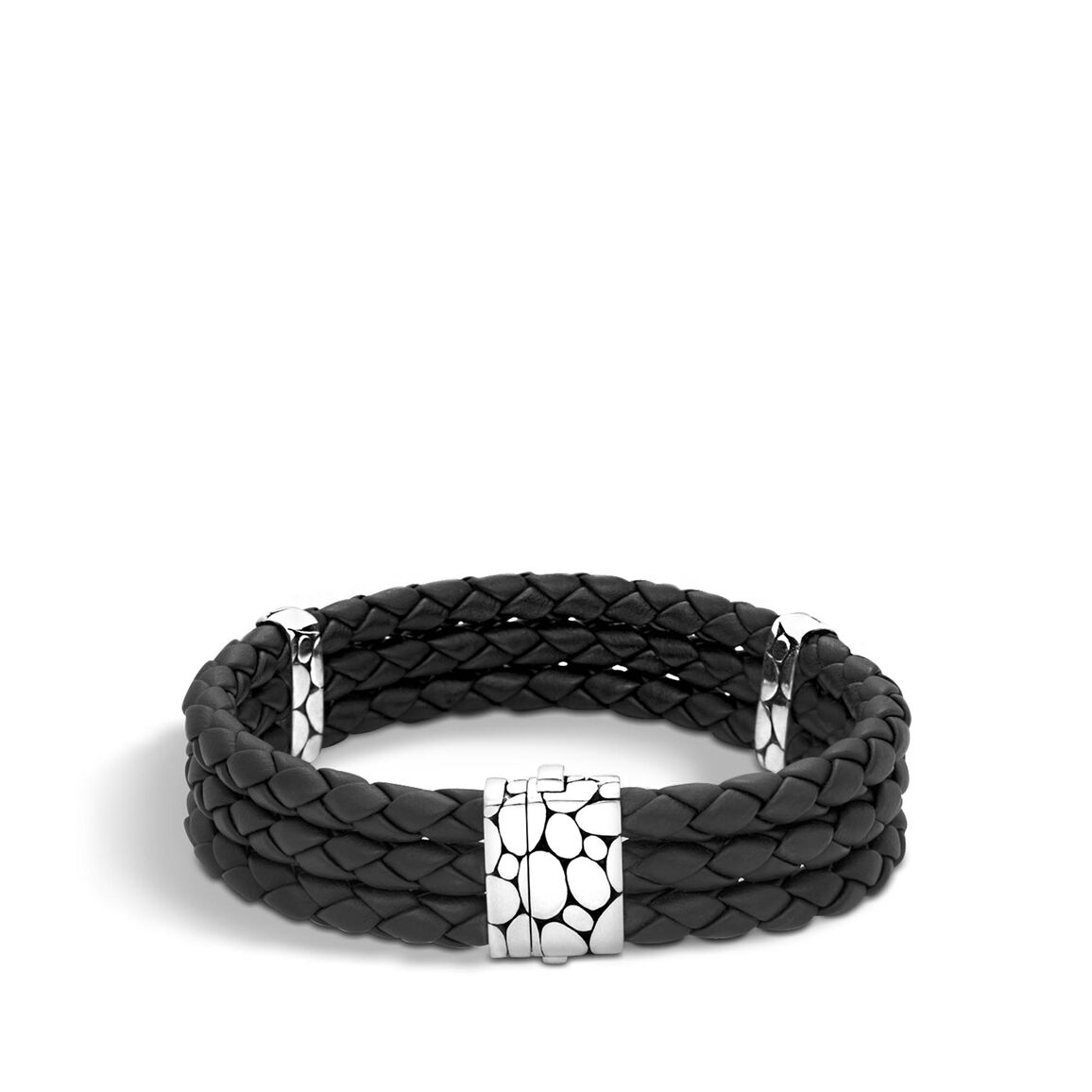 Kali Triple Row Bracelet in Silver