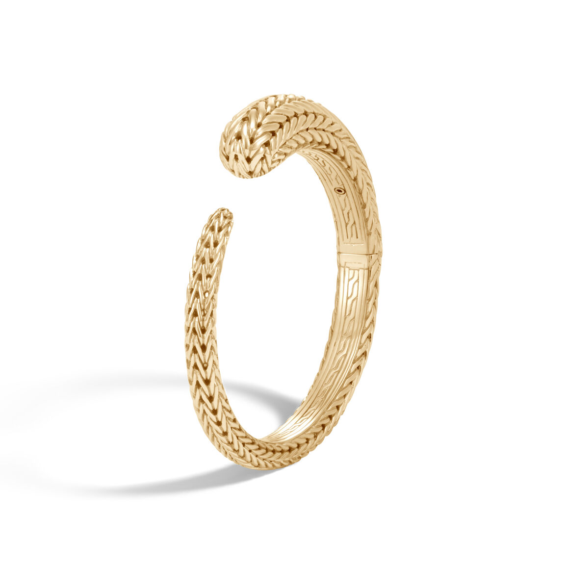 Classic Chain 10MM Kick Cuff in 18K Gold