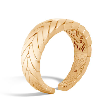 Modern Chain 20.5MM Kick Cuff in 18K Gold