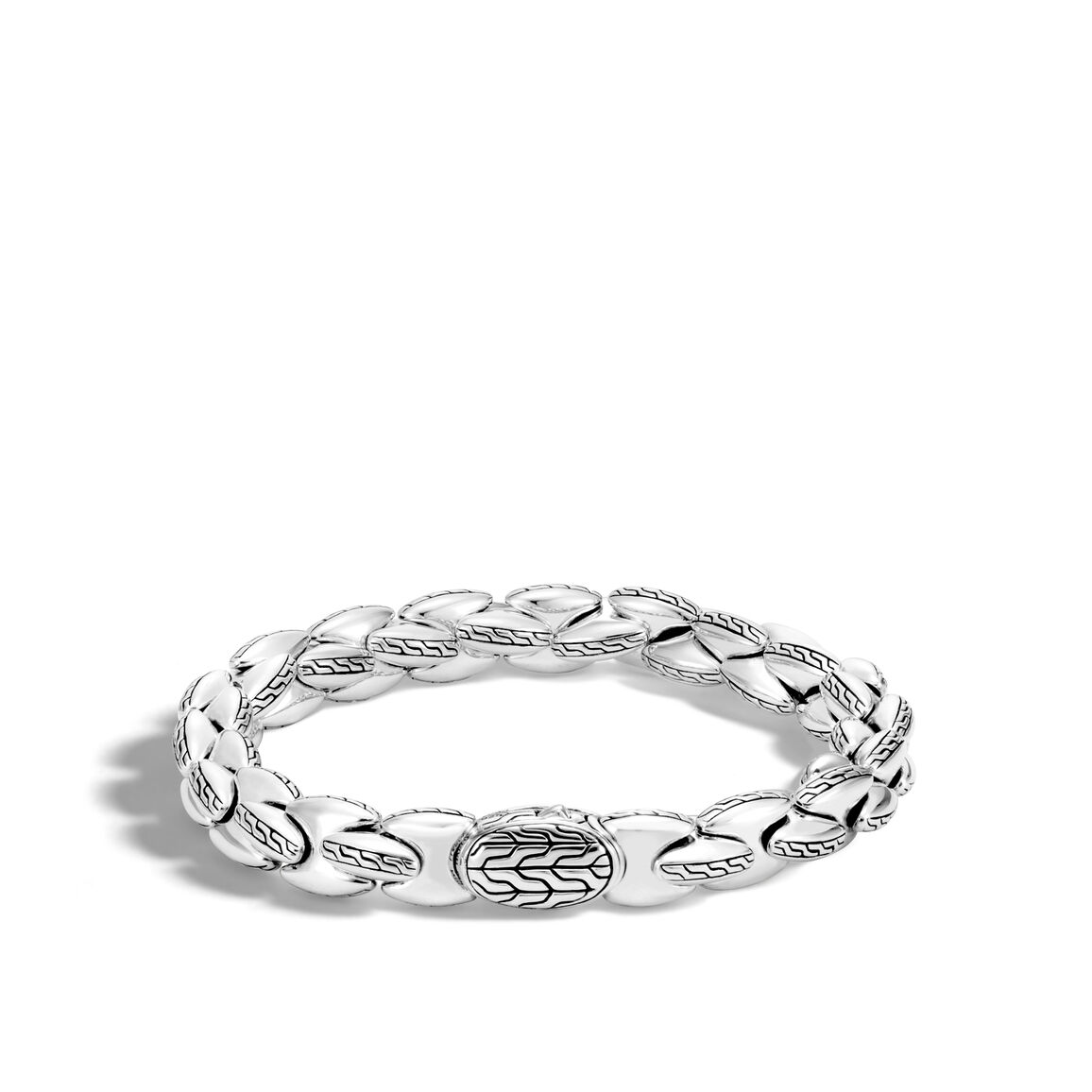 Classic Chain 10MM Bracelet in Silver