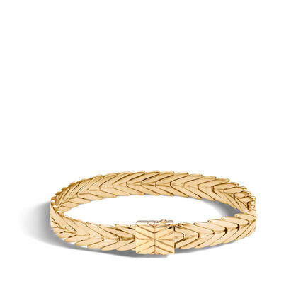Modern Chain 8MM Bracelet in 18K Gold