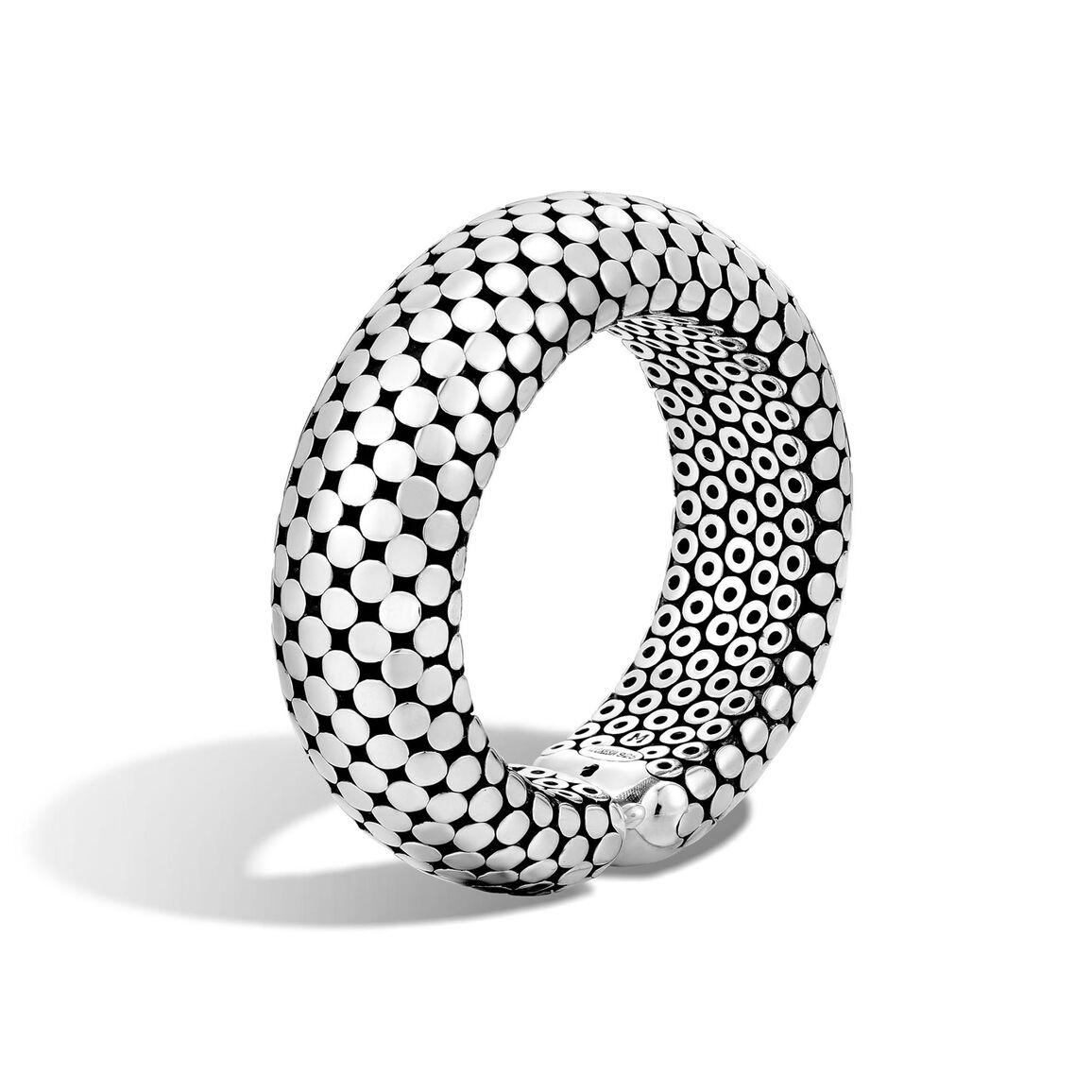 Dot 22MM Cuff in Silver