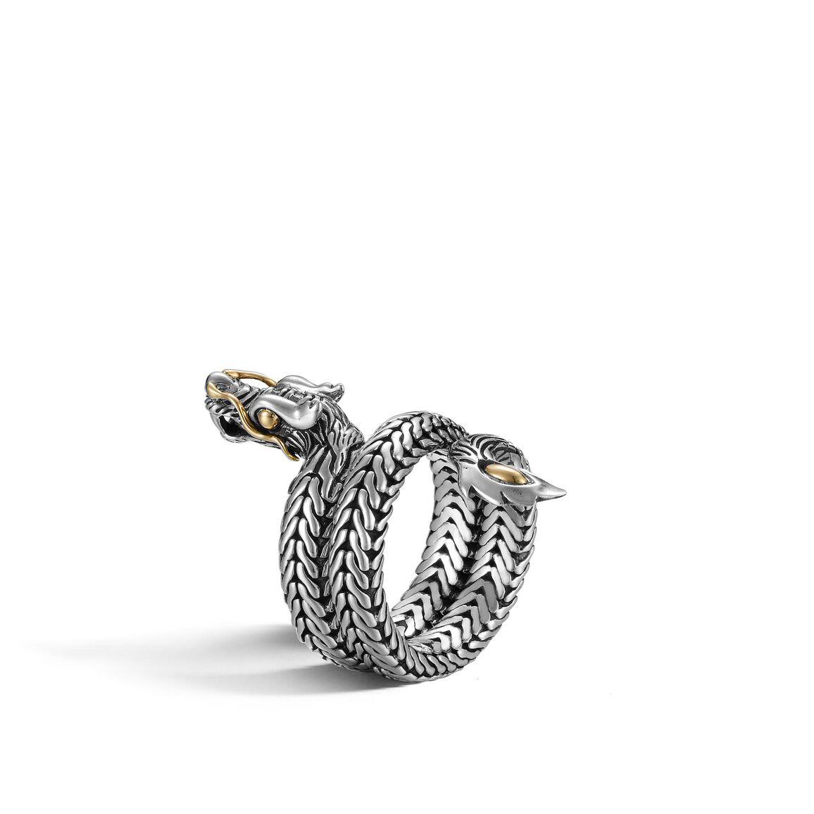 Legends Naga Dragon Coil Ring