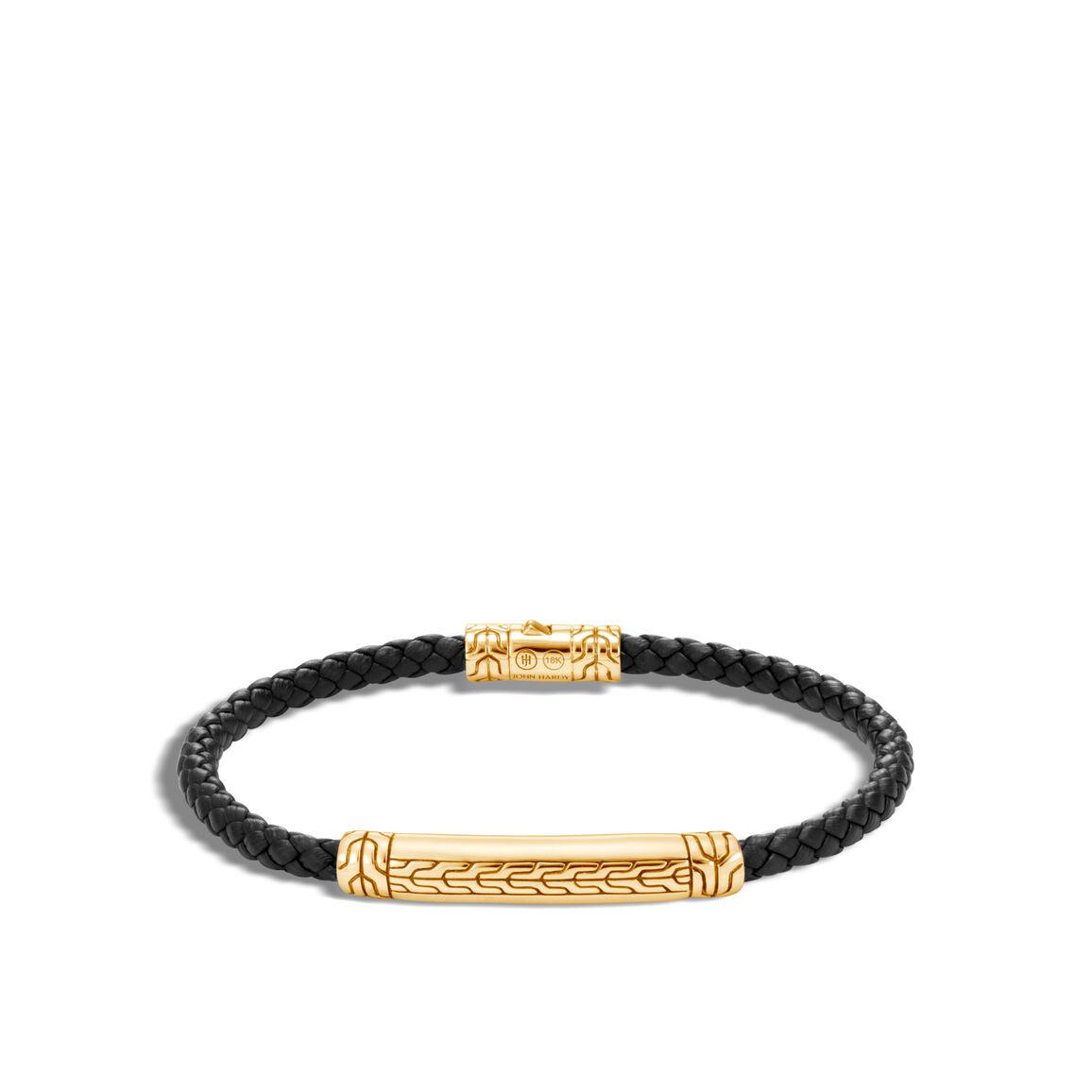 Classic Chain 4MM Station Bracelet in 18K Gold