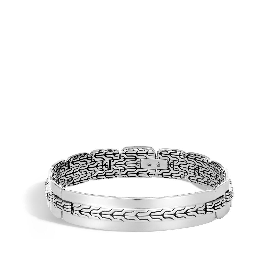 Classic Chain 12.5MM Bracelet in Silver
