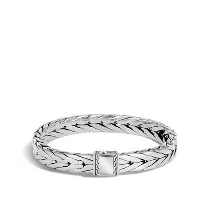 Modern Chain 9MM Bracelet in Silver