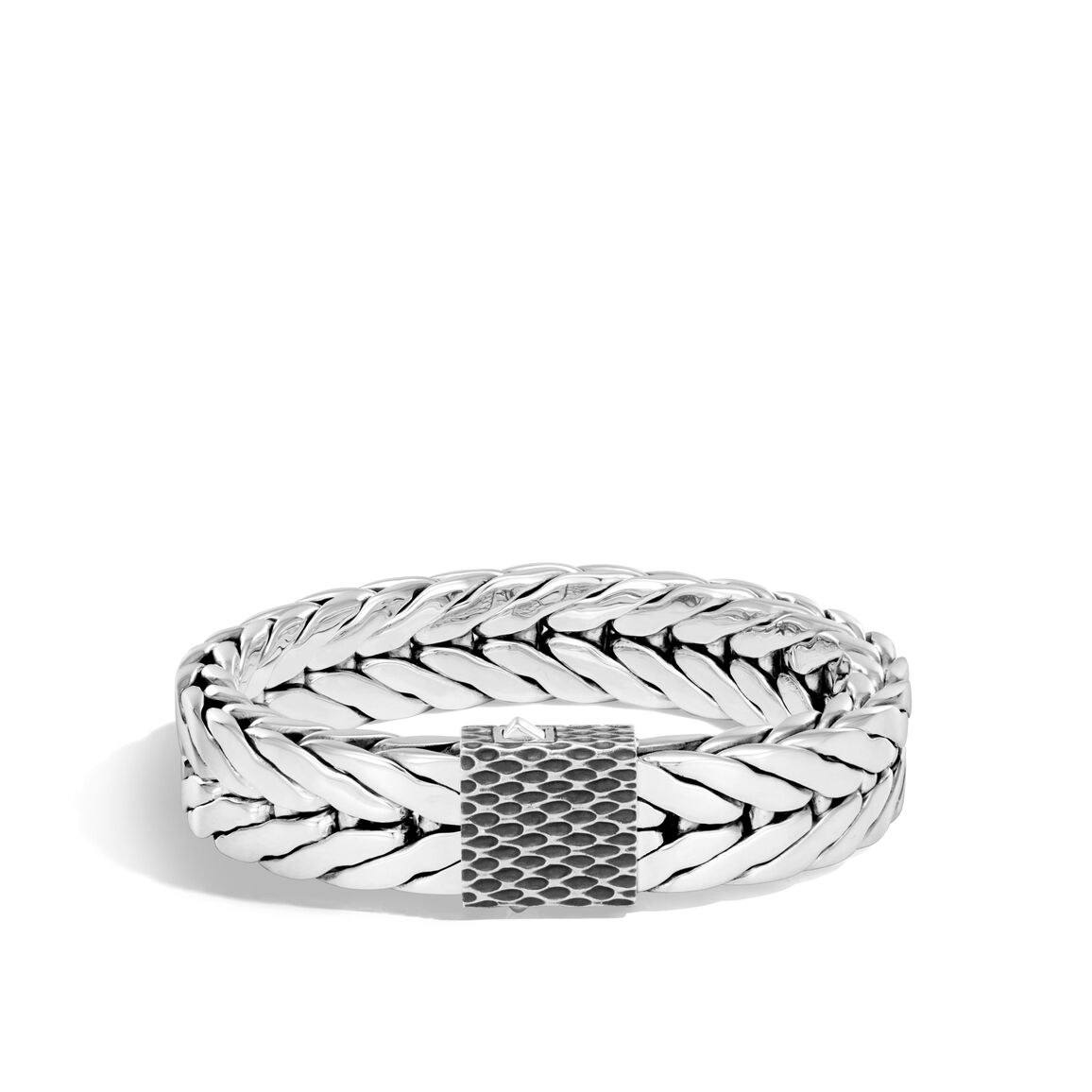 Legends Naga 16MM Modern Chain Bracelet in Silver