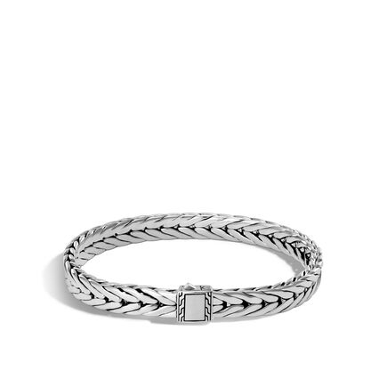 Modern Chain 7MM Bracelet in Silver