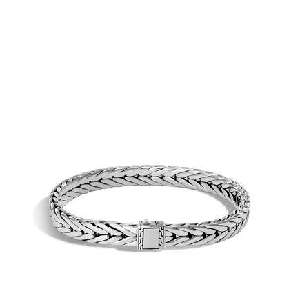 Modern Chain 7MM Bracelet in Silver