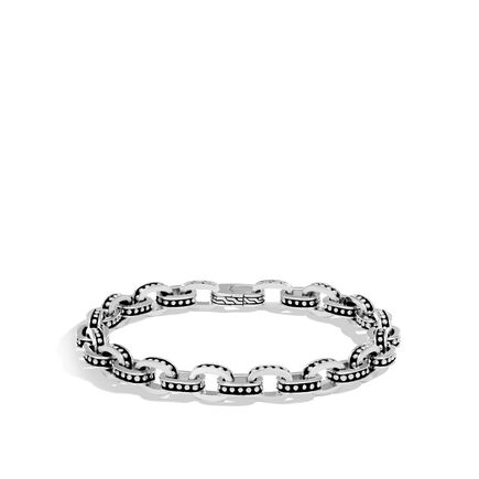 Chain Jawan 7.5MM Link Bracelet in Silver