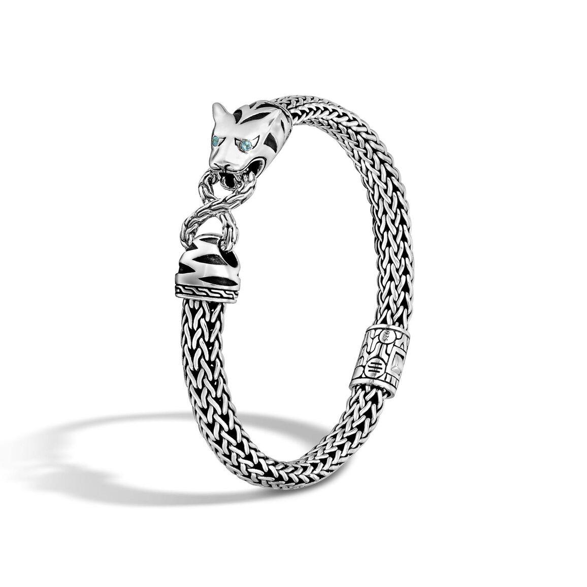 Legends Macan 6.5MM Station Bracelet in Silver