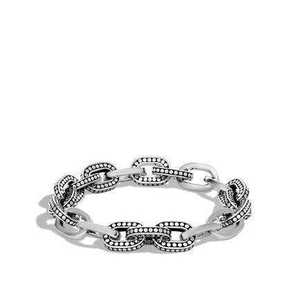 Dot 11.5MM Link Bracelet in Silver