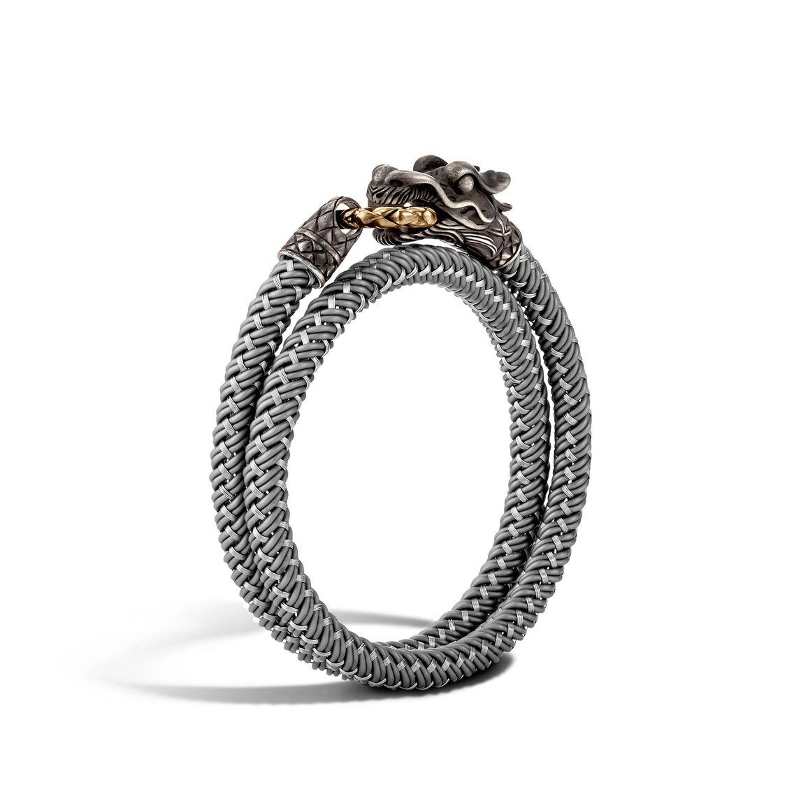 Legends Naga Wrap Bracelet In Silver and Bronze