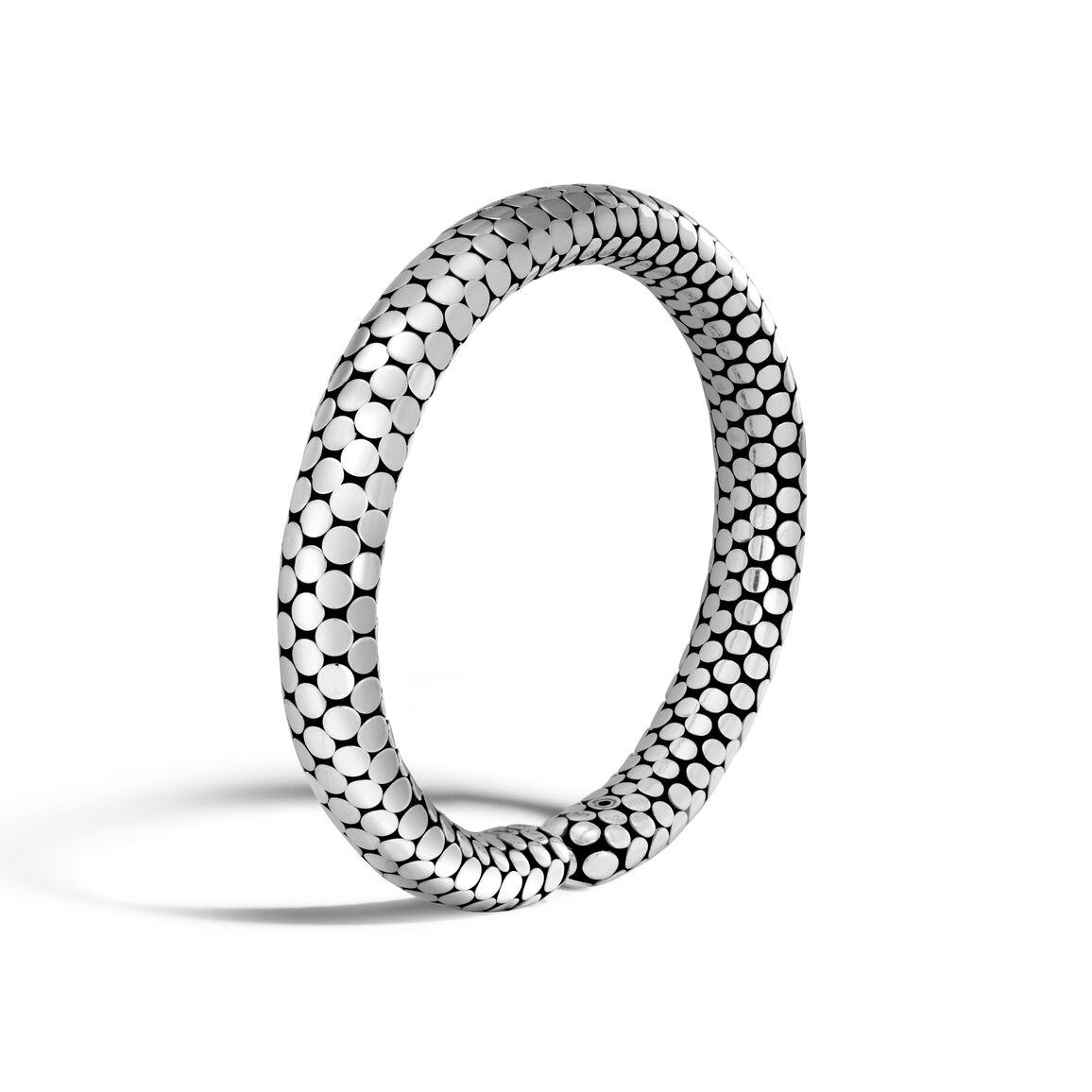 Dot 8MM Cuff in Silver