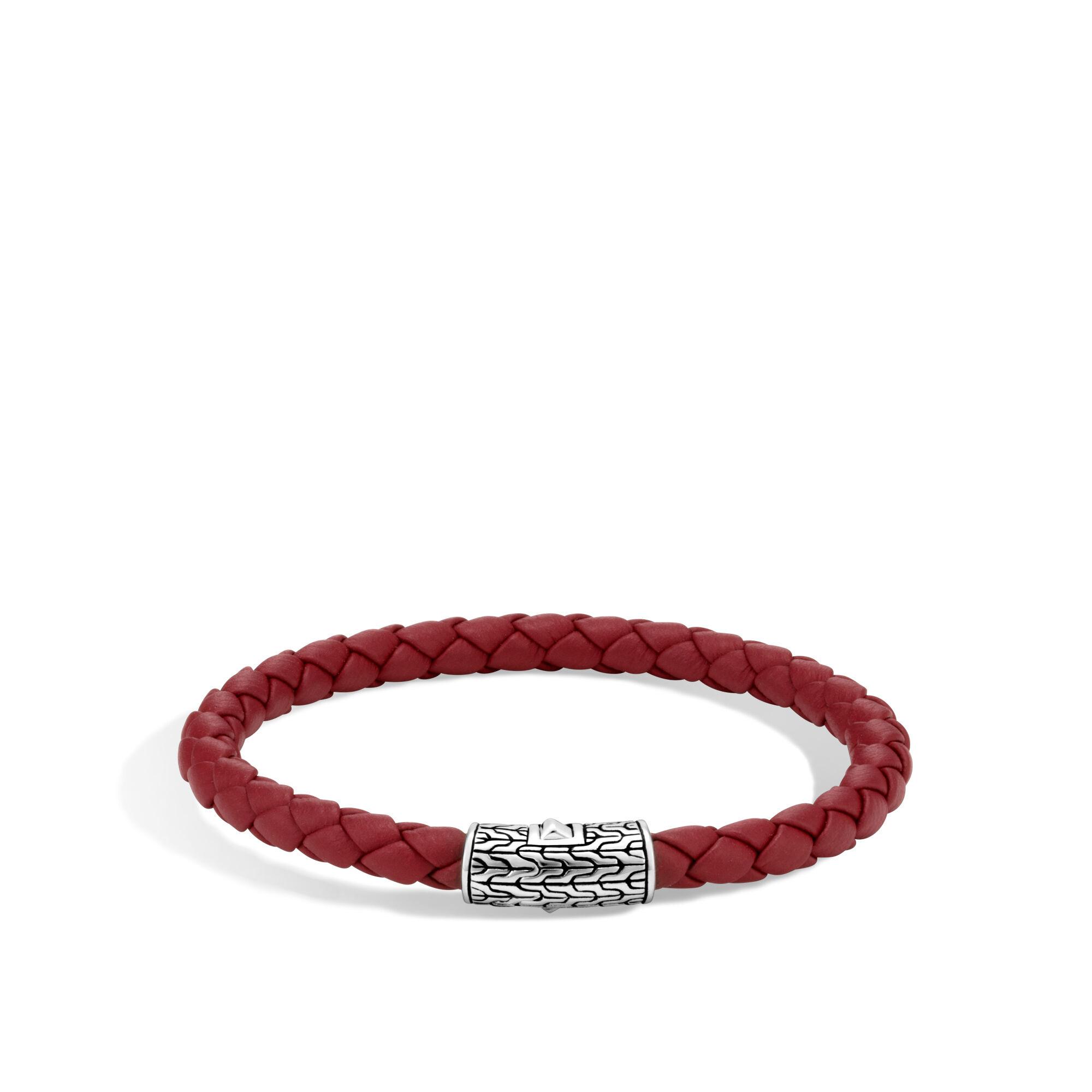 John Hardy Classic Chain Station Bracelet Xs Red YqZ50
