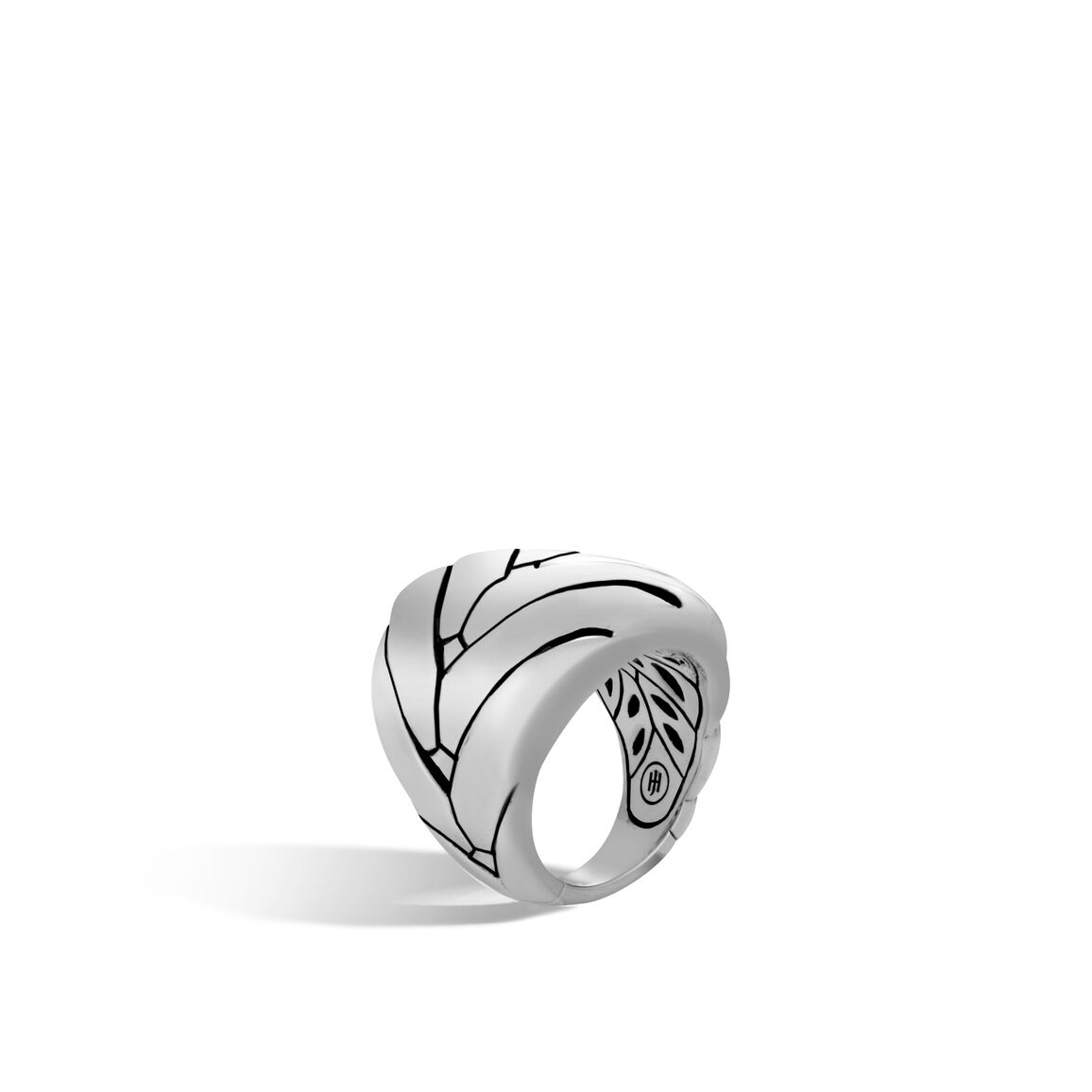 Modern Chain 24MM Ring in Silver