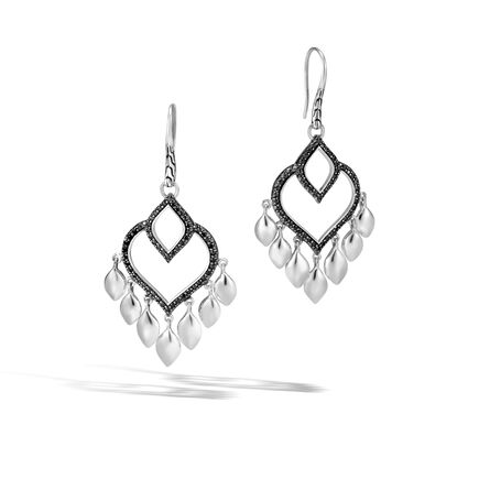 Legends Naga Chandelier Earring in Silver with Gemstone