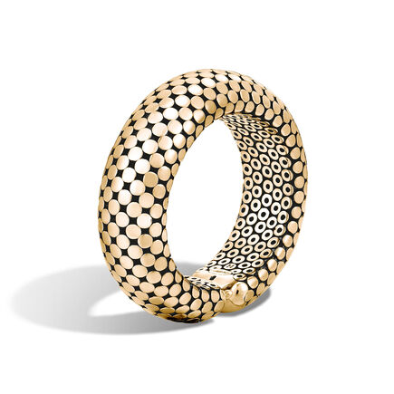 Dot 22MM Cuff in 18K Gold