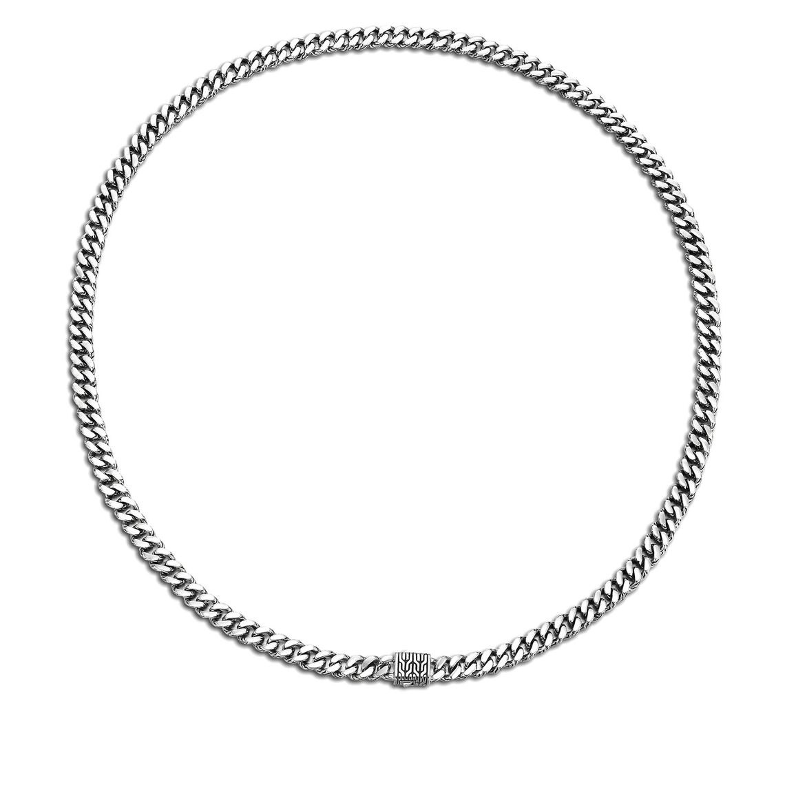Classic Chain 7MM Chain Necklace in Silver