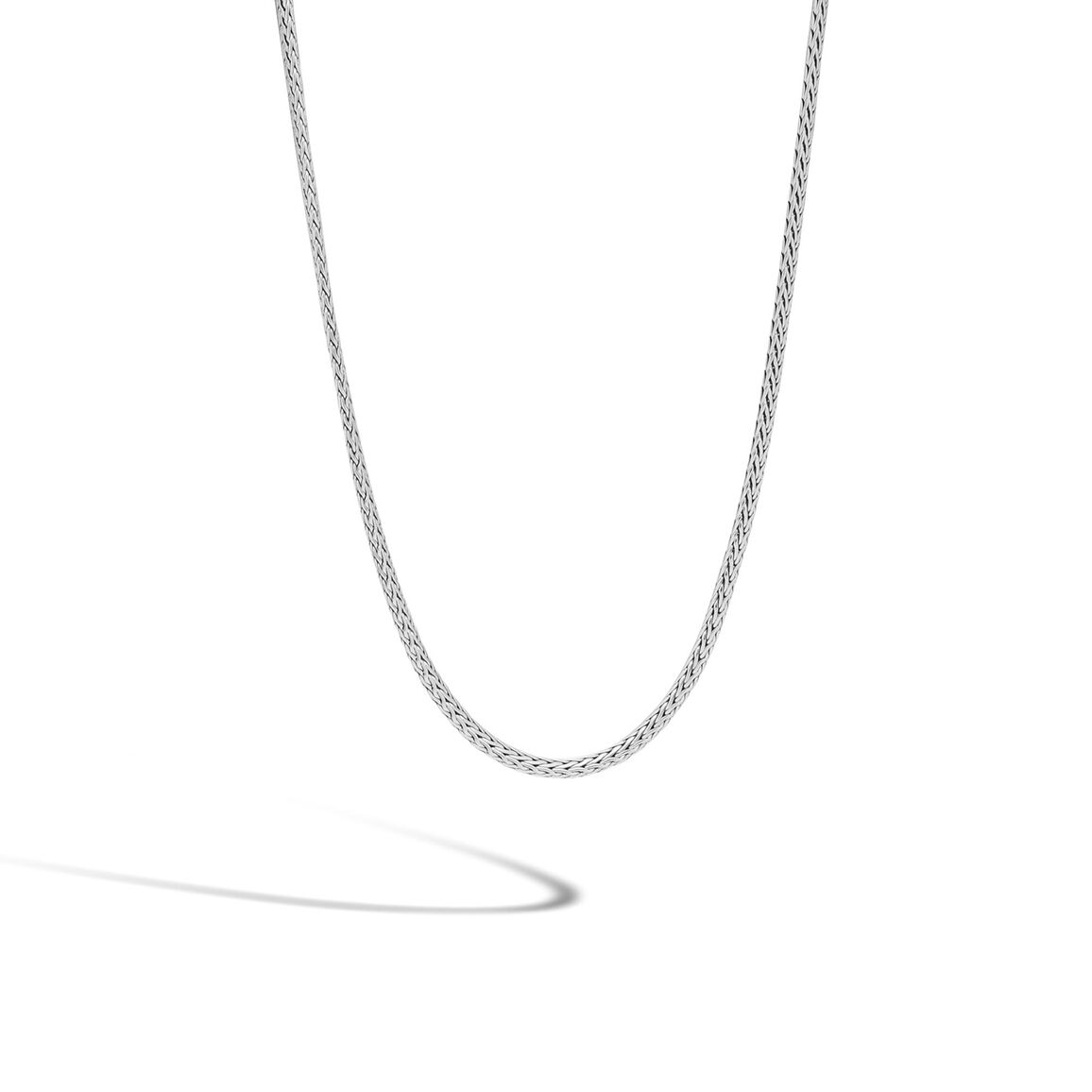 Classic Chain 2.5MM Necklace in Silver