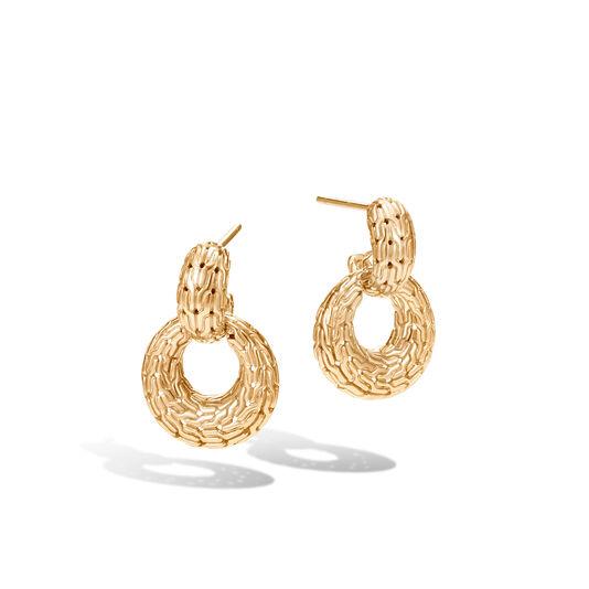 Clic Chain Door Knocker Earring In 18k Gold Large