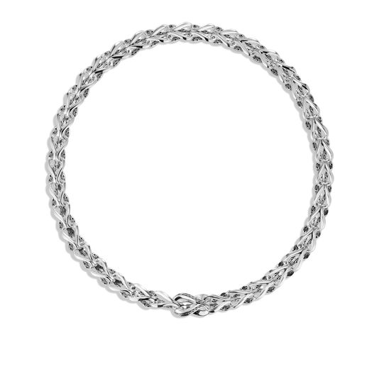 Asli Classic Chain Link 10MM Necklace in Silver, , large