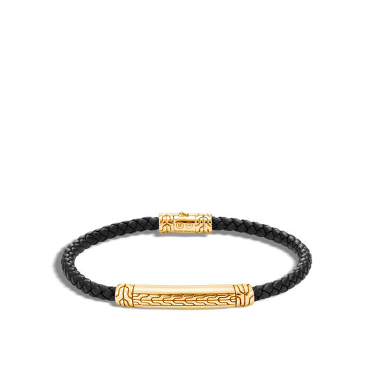 Classic Chain 4MM Station Bracelet in 18K Gold, , large