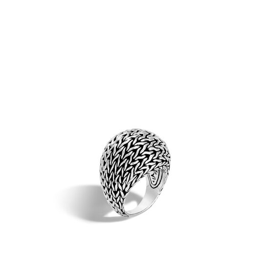 Classic Chain 21MM Dome Ring in Silver, , large