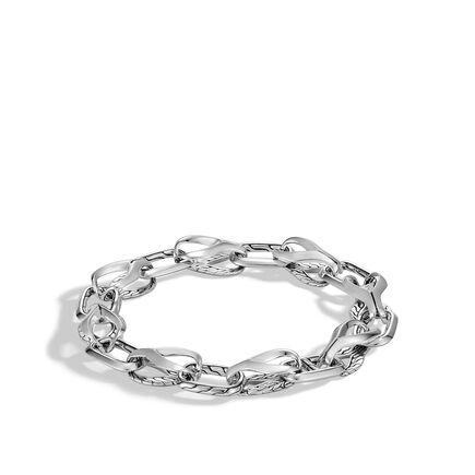 Asli Classic Chain Link 11MM Bracelet in Silver