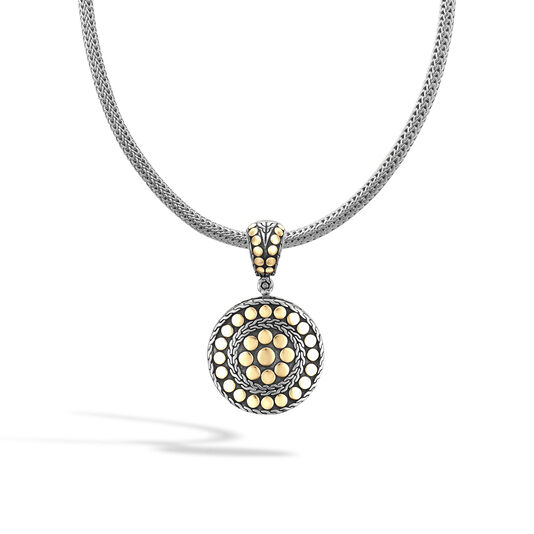 Dot Enhancer in Silver and 18K Gold, , large