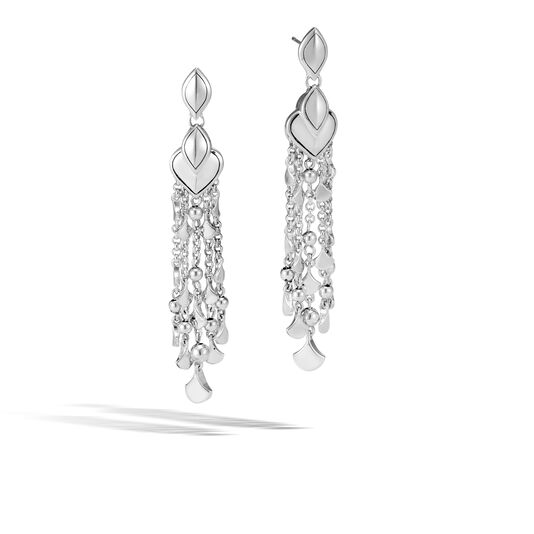 Legends Naga Chandelier Earring in Silver, , large