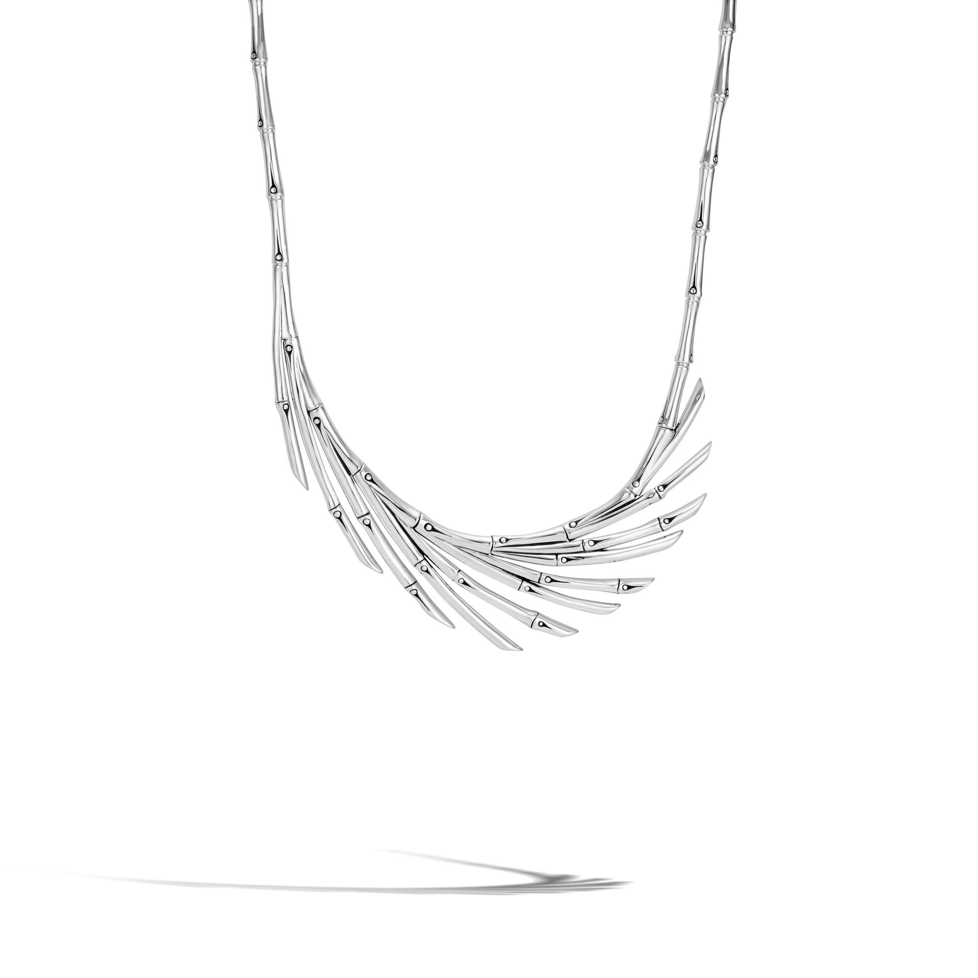 Bamboo Fan Necklace, , large