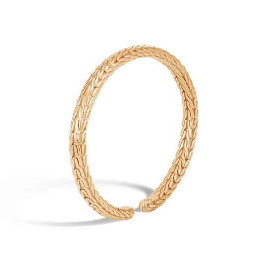 Classic Chain 6MM Cuff in 18K Gold, , large