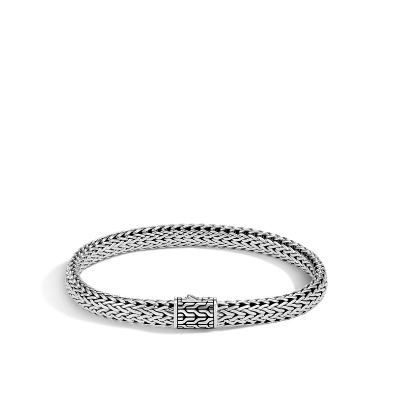 Classic Chain 7.5MM Bracelet in Silver, , large