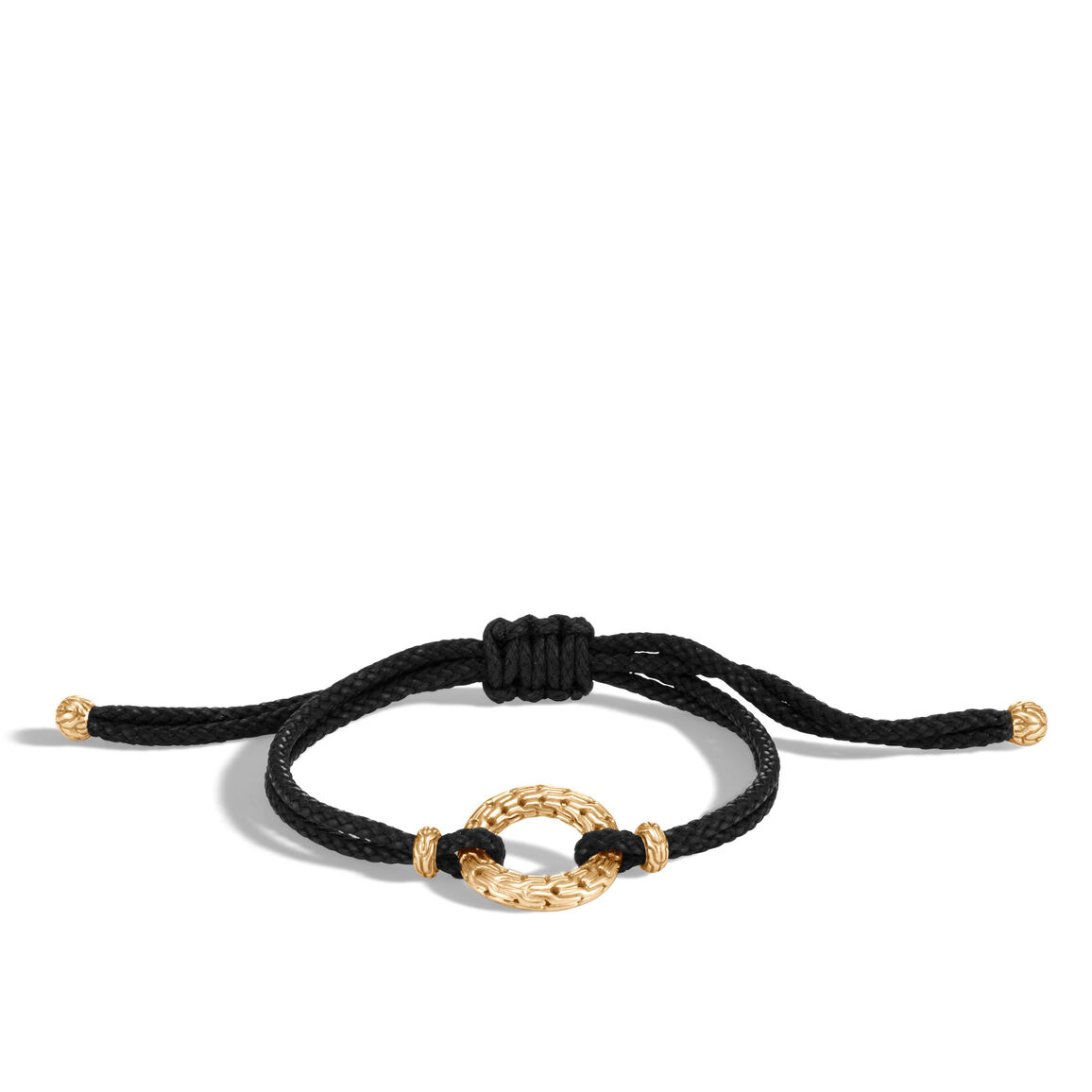 Classic Chain Pull Through Bracelet in 18K Gold