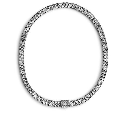 Classic Chain 7.5MM Necklace in Silver