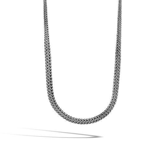 Classic Chain 8.5MM Graduated Necklace in Silver, , large