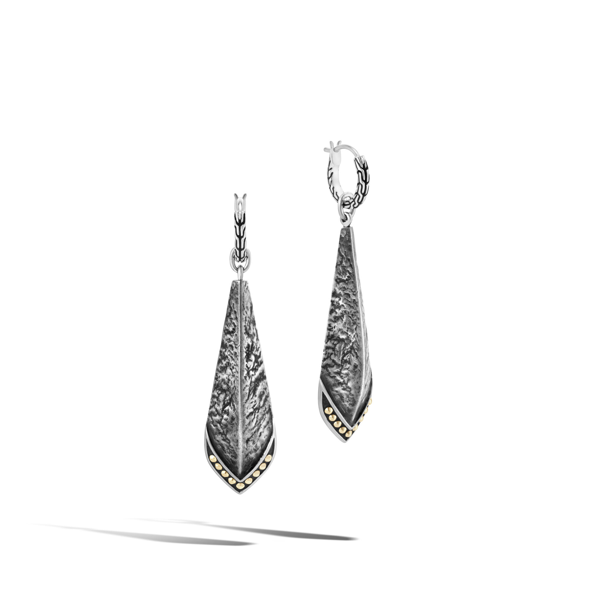 Reticulated Drop Earring , , large
